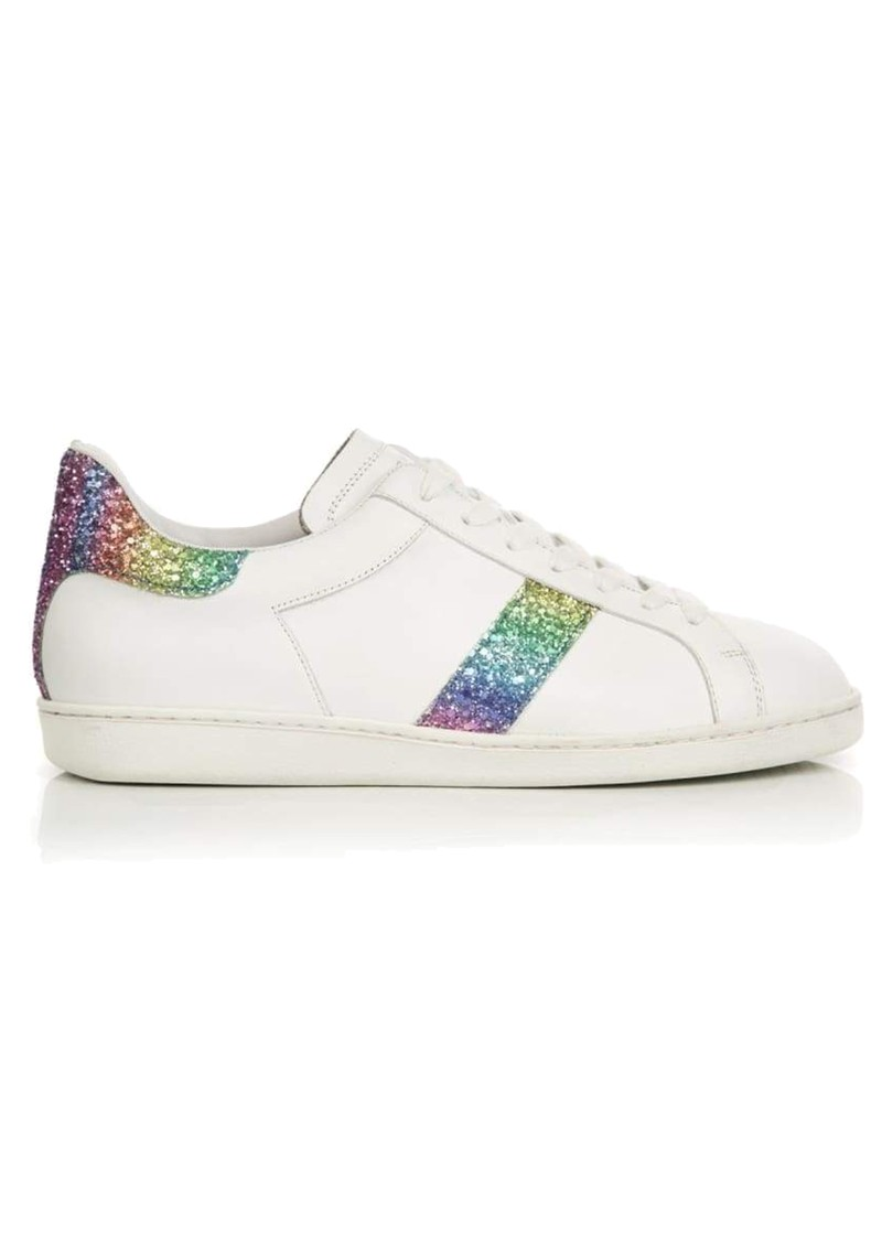 AIR & GRACE Copeland Trainer - Rainbow Glitter main image