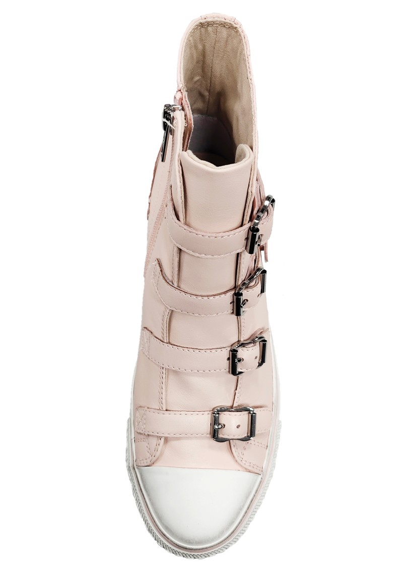 Ash Virgin Leather Buckle Trainers - Powder main image