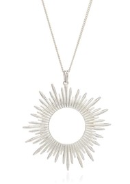 RACHEL JACKSON Sunrays Long Necklace - Silver
