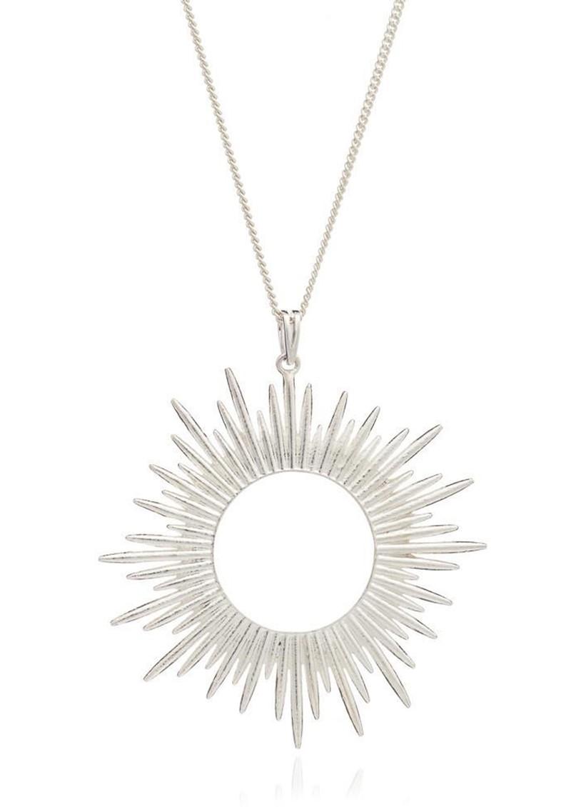RACHEL JACKSON Sunrays Long Necklace - Silver main image
