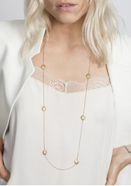 RACHEL JACKSON Multi Mini Sun Chain Necklace - Gold