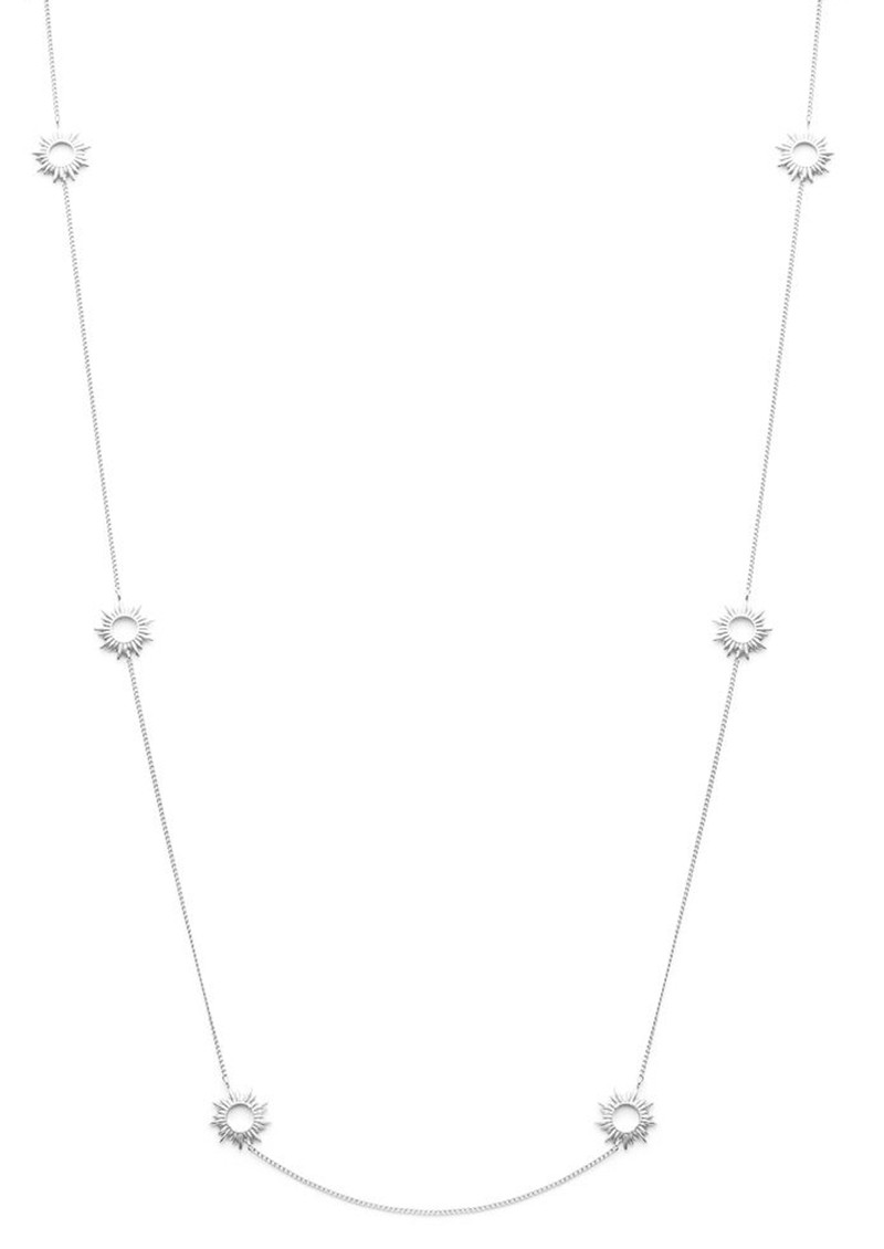 RACHEL JACKSON Multi Mini Sun Chain Necklace - Silver main image