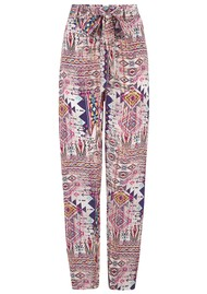 INOA Slouch Patterned Tapered Trouser - Peruvian