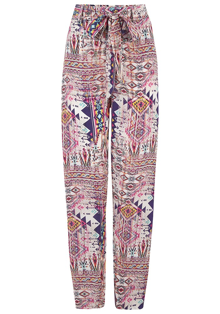 INOA Slouch Patterned Tapered Trouser - Peruvian main image