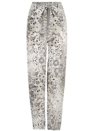 INOA Slouch Patterned Tapered Trouser - Blanco Neve