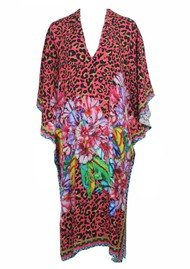 Blank Chris Printed Kaftan Dress - Multi