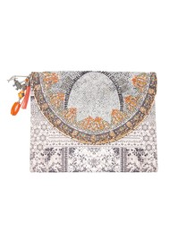 INOA Embellished Clutch Bag - Blanco Neve
