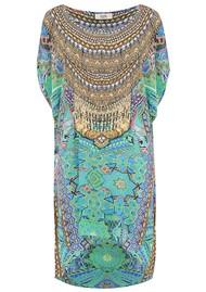 INOA Hi Lo Embellished Tunic - Emerald