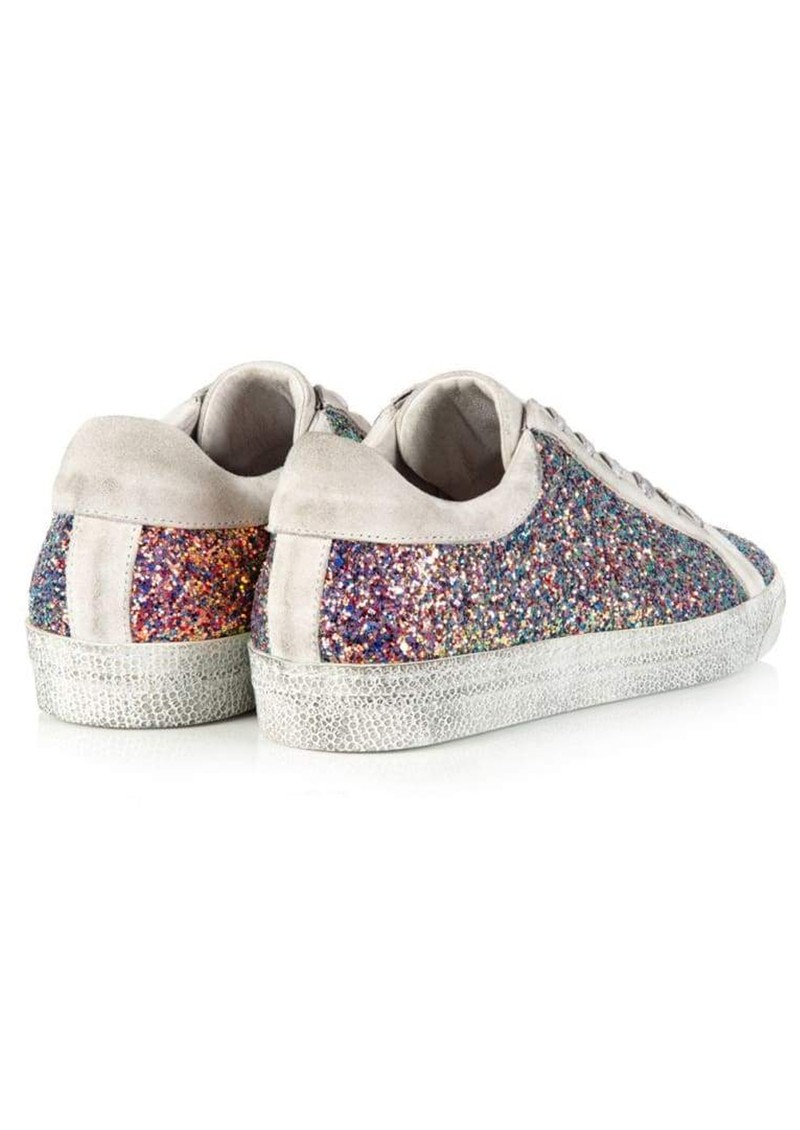 AIR & GRACE Cru Glitter Trainer - Multi Pink main image