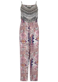 INOA Printed Silk Jumpsuit - Peruvian