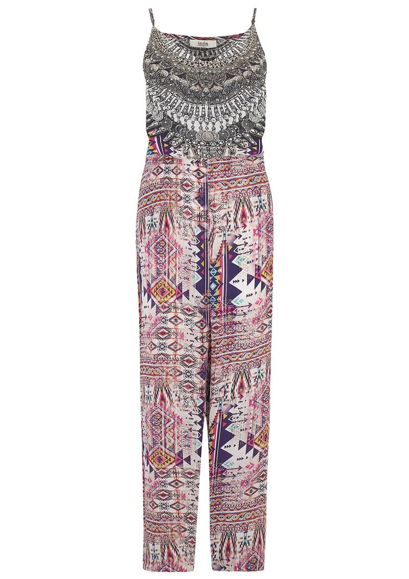 INOA Printed Silk Jumpsuit - Peruvian main image