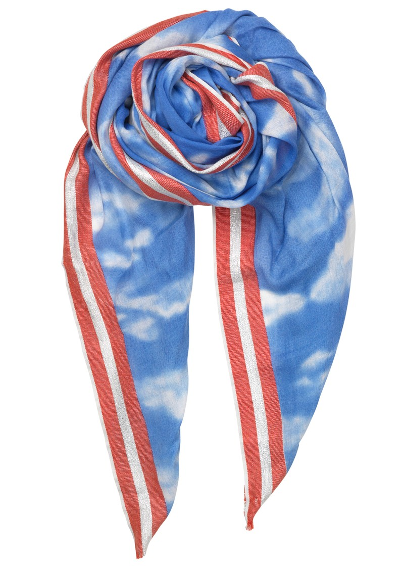 Becksondergaard Clouds Scarf - Light Blue main image