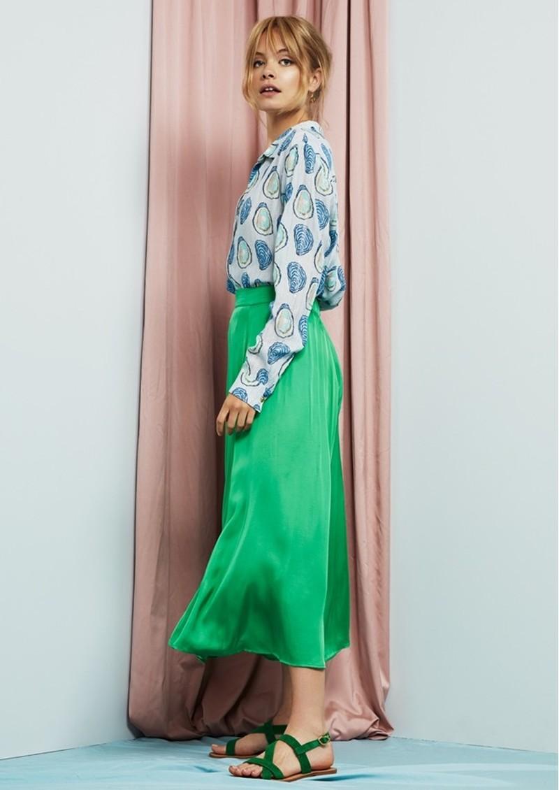 FABIENNE CHAPOT Megan Skirt - Basil Green  main image