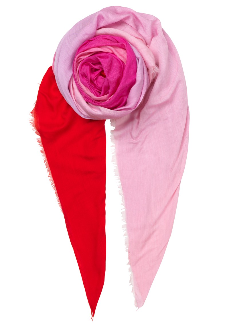 Pixi Colour Block Scarf - Red Love main image