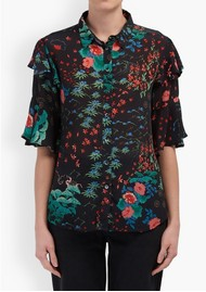Lily and Lionel Frankie Shirt - Wonderland Black