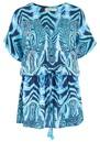 BEACH GOLD Mojito Mini Dress - Ocean