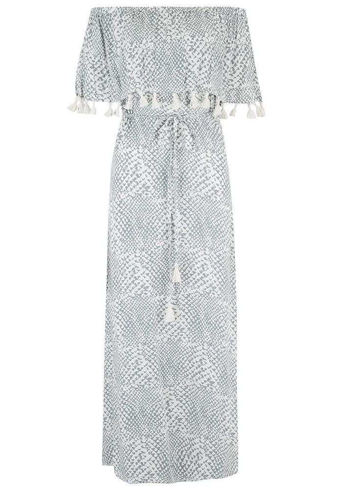 BEACH GOLD Pari Maxi Dress - Silver main image