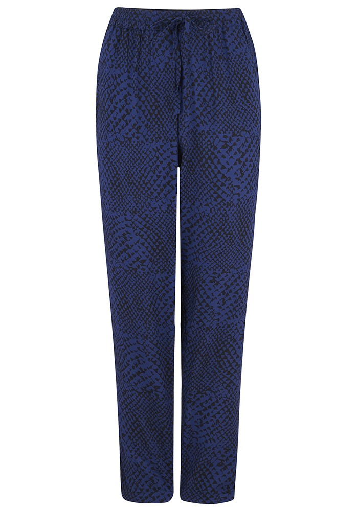 BEACH GOLD Sana Pant Trouser - Navy main image