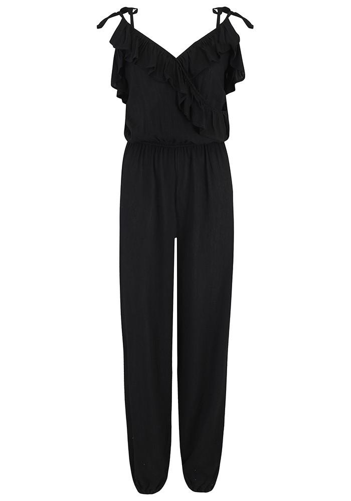 LINDSEY BROWN Santa Rosa Jumpsuit - Black main image