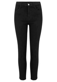 J Brand Ruby High Rise Cropped Cigarette Jeans - Vanity