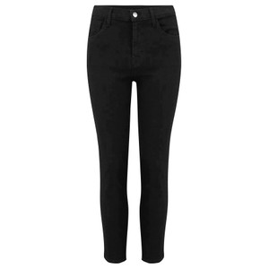 Ruby High Rise Cropped Cigarette Jeans - Vanity