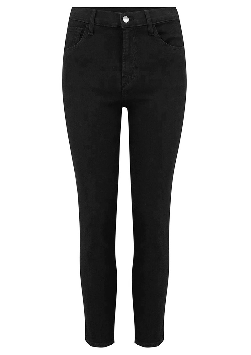 J Brand Ruby High Rise Cropped Cigarette Jeans - Vanity main image