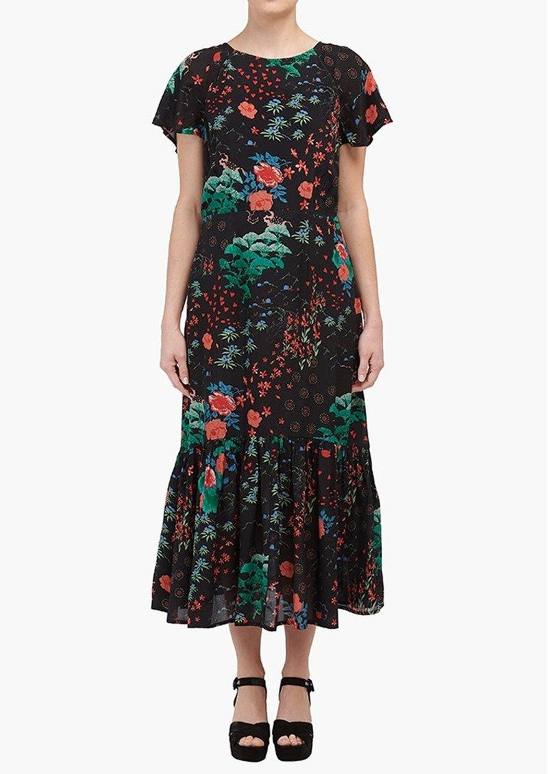 Lily and Lionel Rae Dress - Black Wonderland main image