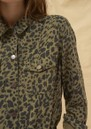 Ba&sh Looper Jacket - Khaki Leopard