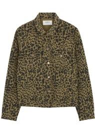 Ba&sh Looper Jacket - Khaki Leopard