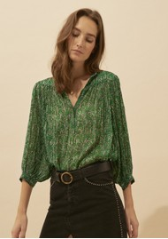 Ba&sh Colline Blouse - Green