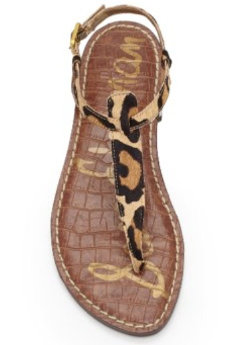 Sam Edelman Gigi Thong Sandal New Nude Leopard main image