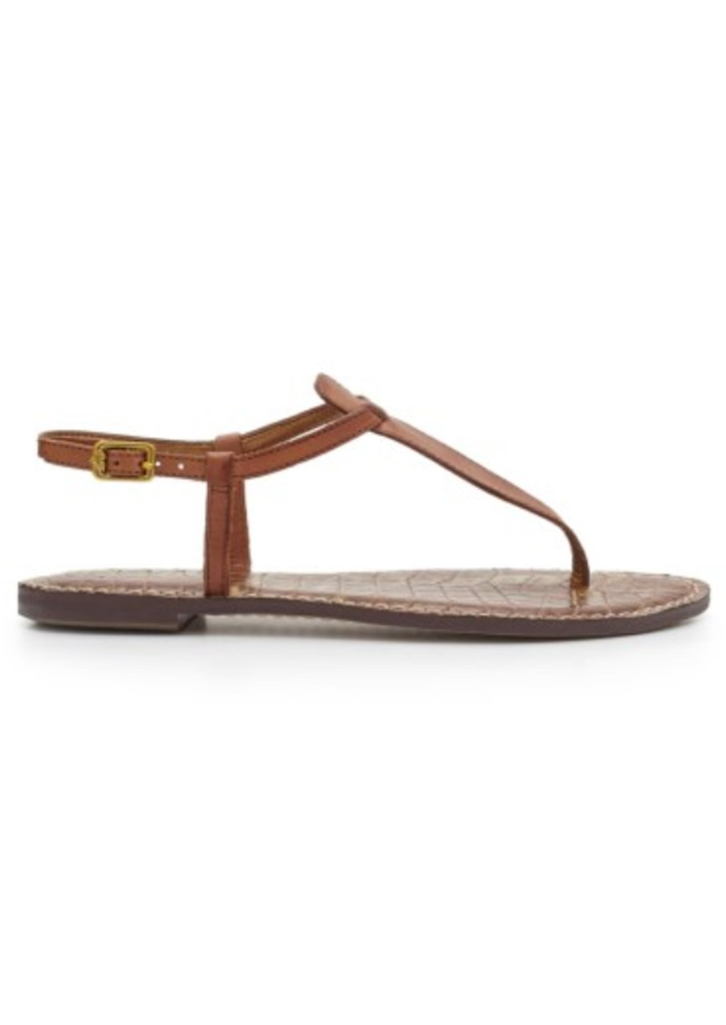 Sam Edelman Gigi Thong Sandal - Saddle main image