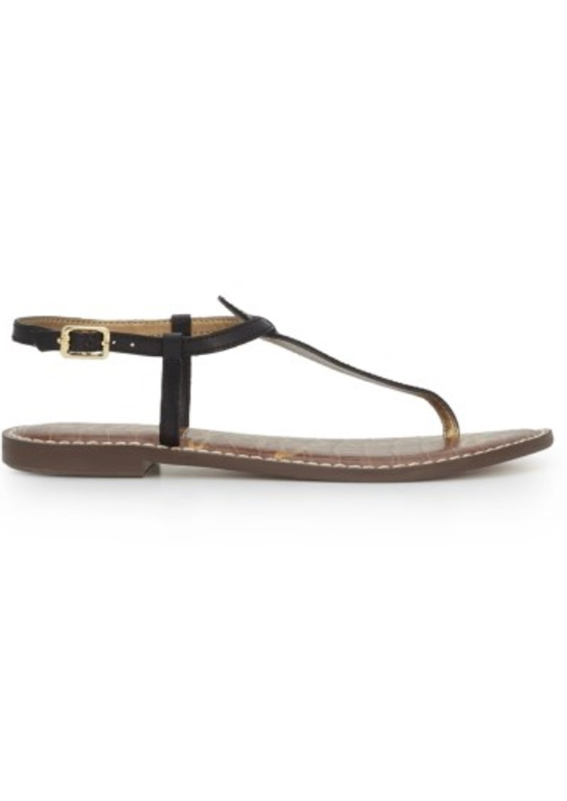 Sam Edelman Gigi Thong Sandal - True Black main image