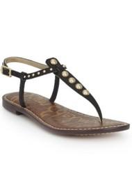 Sam Edelman Gigi Studded Thong Sandal - Black
