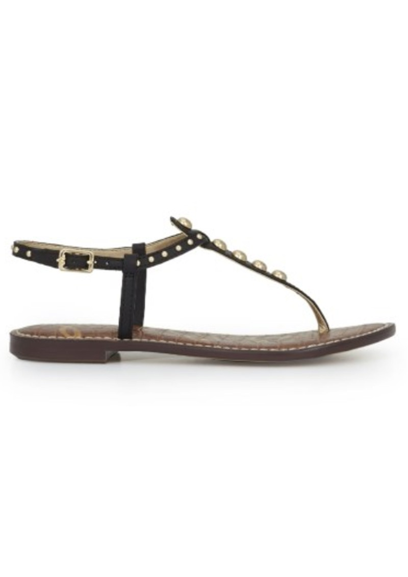 Gigi Studded Thong Sandal - Black main image