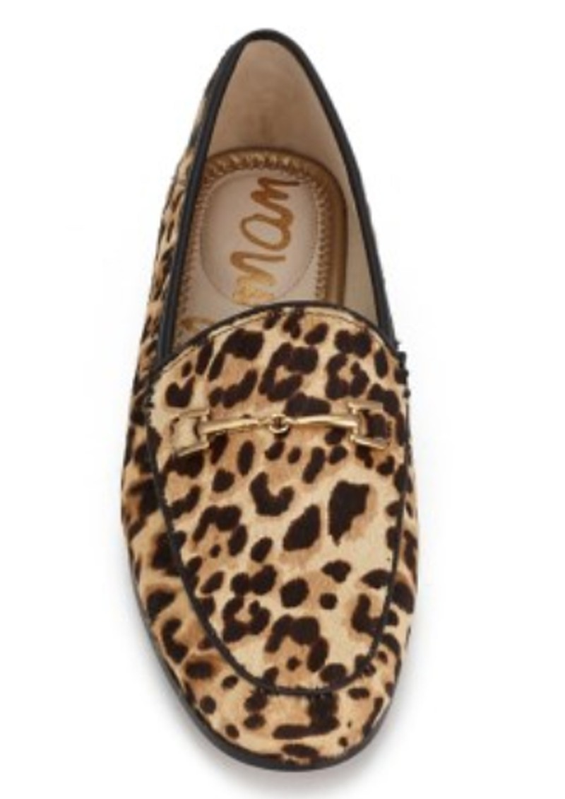 Sam Edelman Loraine Leopard Loafer - Sand main image