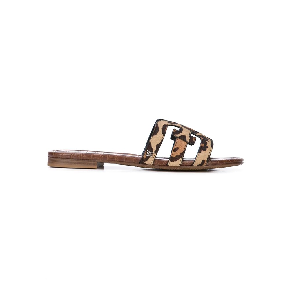 Bay Leopard Sliders - New Nude