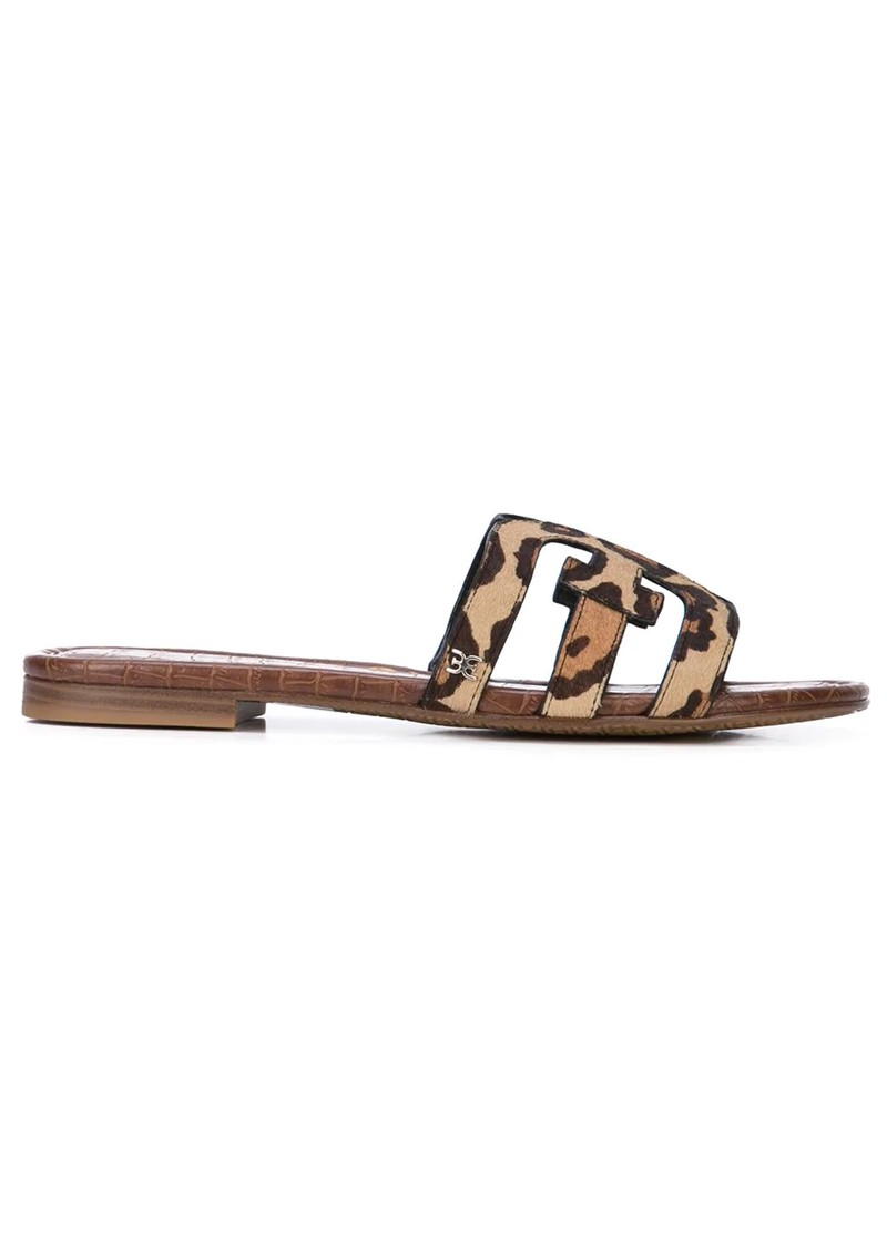 Sam Edelman Bay Leopard Sliders - New Nude main image