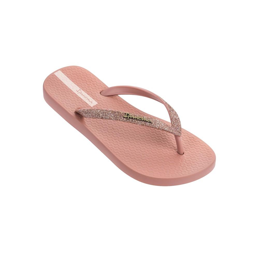 Lolita Glitter 21 Flip Flops - Blush