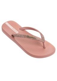 Ipanema Lolita Glitter 21 Flip Flops - Blush