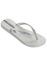 Ipanema Glam 21 Flip Flop - Silver