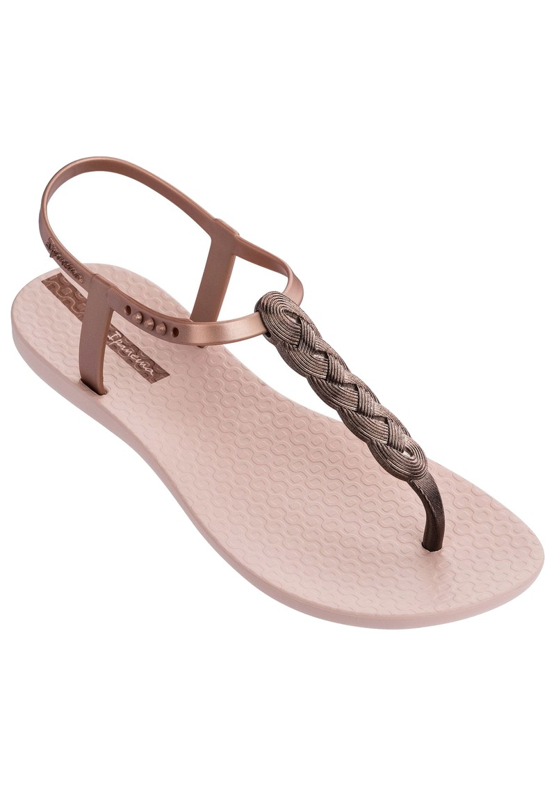 Charm Braided Sandal 21 - Blush main image