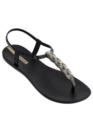 Ipanema Charm Braided Sandal 21 - Black