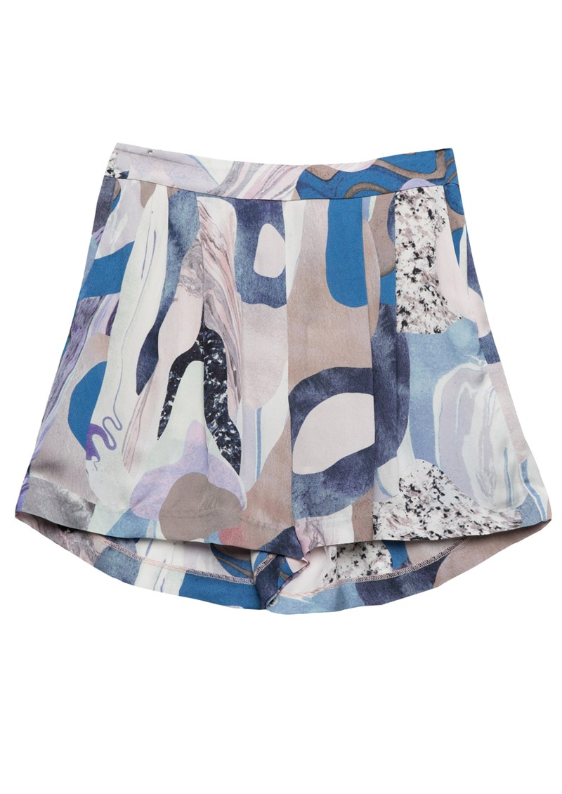 Twist and Tango Polly Shorts - Blue Marble main image