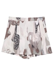 Twist and Tango Polly Shorts - Beige Marble