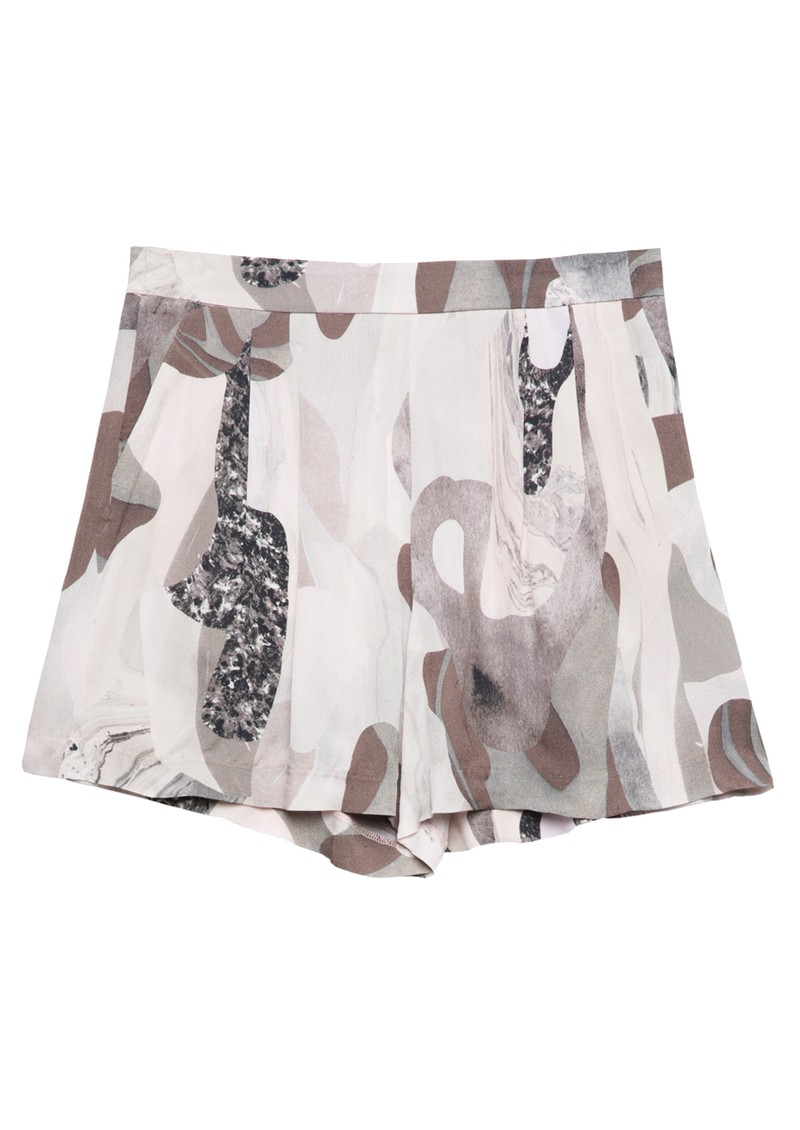 Twist and Tango Polly Shorts - Beige Marble main image