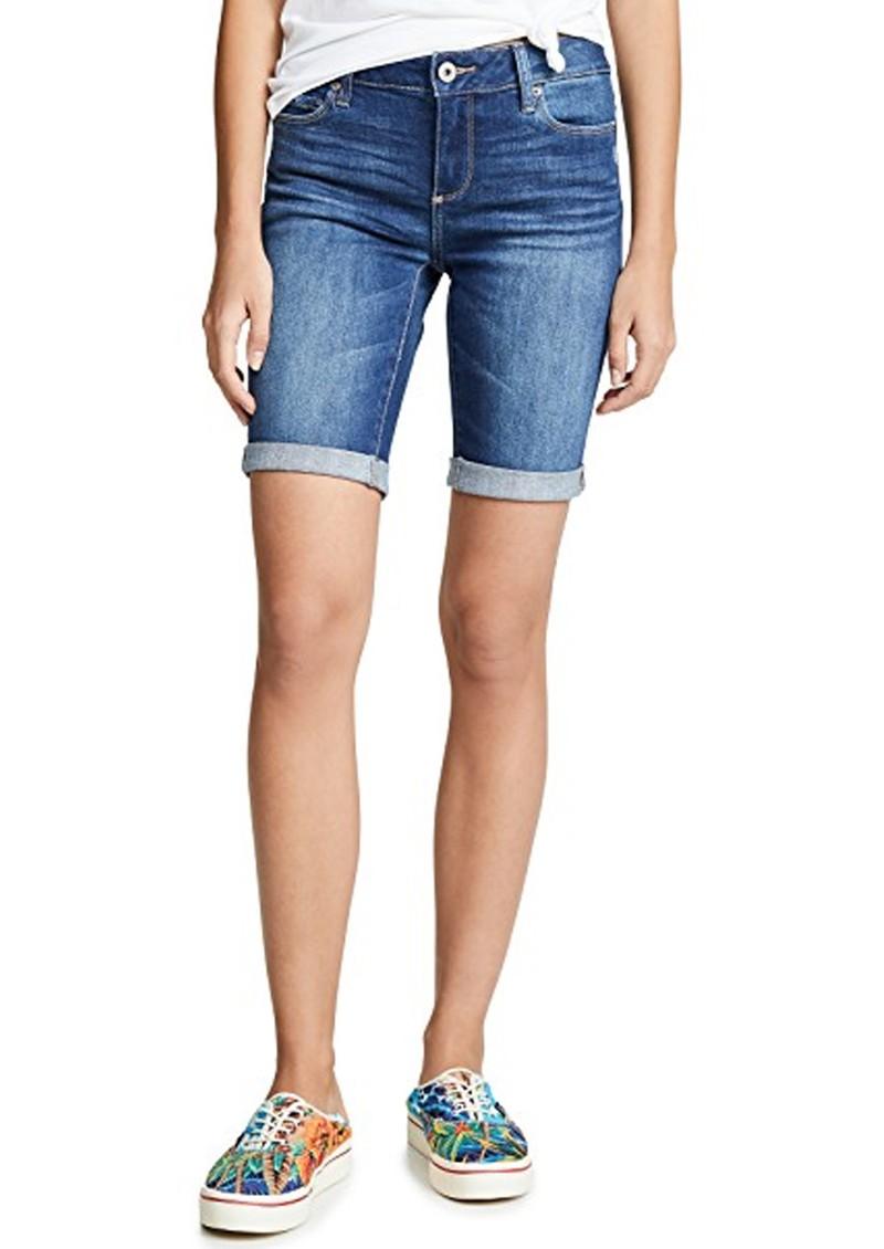 Paige Denim Jax Knee Denim Shorts - Delmont main image