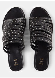 SHOE THE BEAR Jenna Stud Sandals - Black