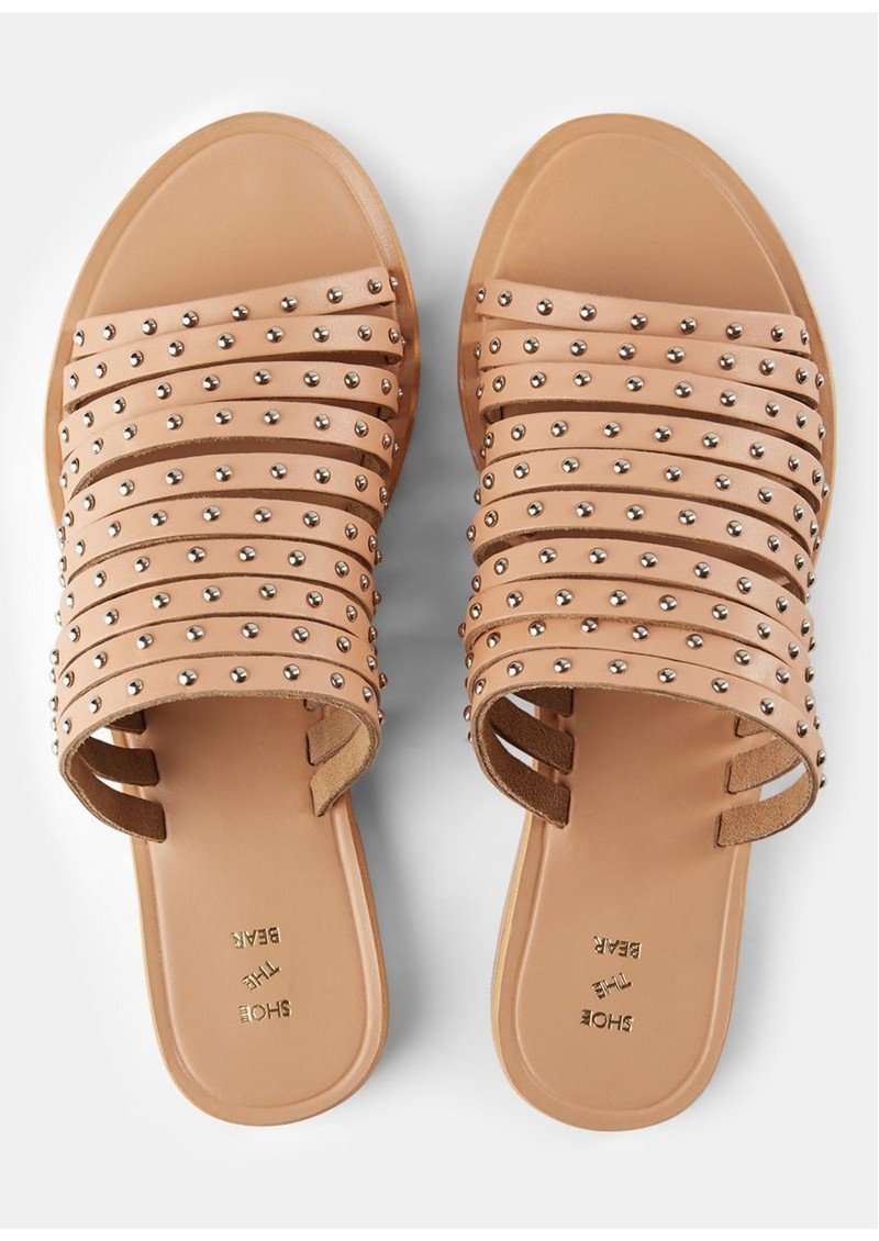SHOE THE BEAR Jenna Stud Sandals - Tan main image