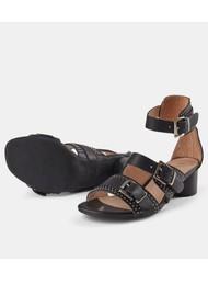 SHOE THE BEAR Aya Stud Sandals - Black